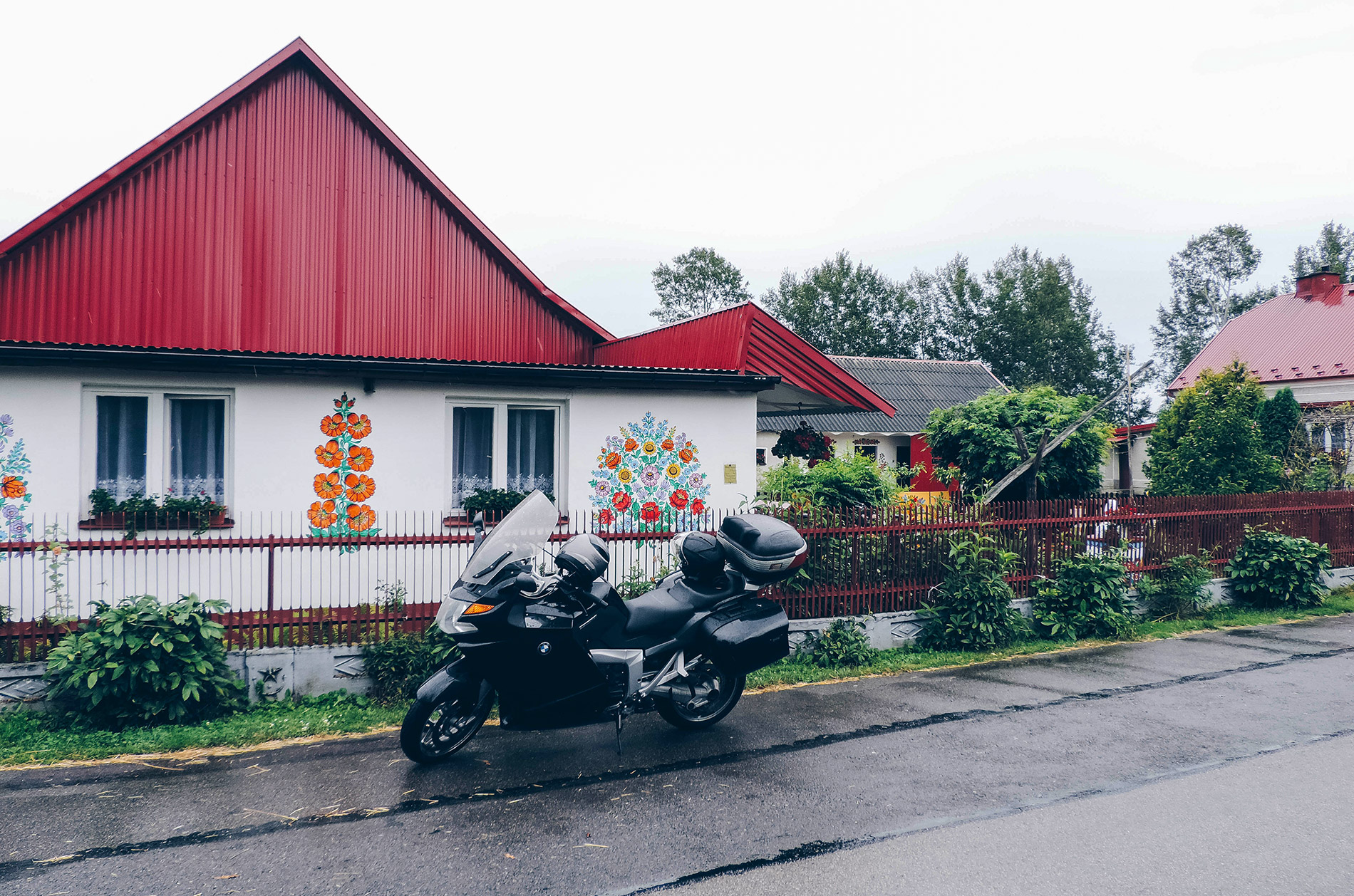 Podkarpacie na motocyklu
