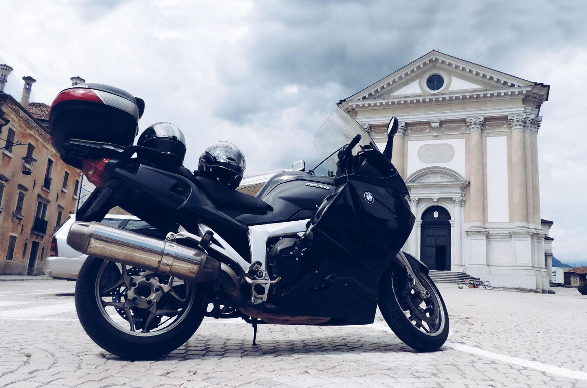 Passo San Boldo motocyklem