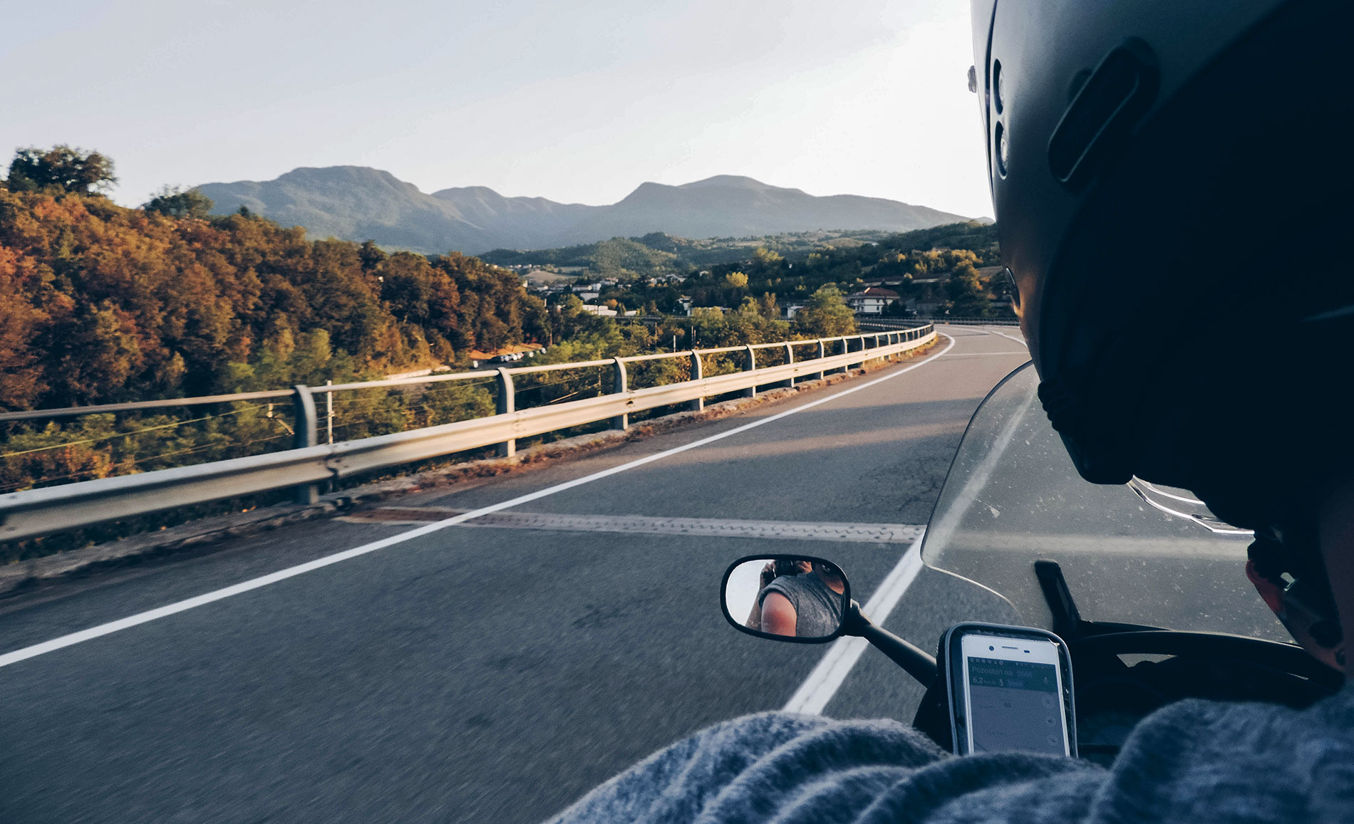 Apeniny motocyklem