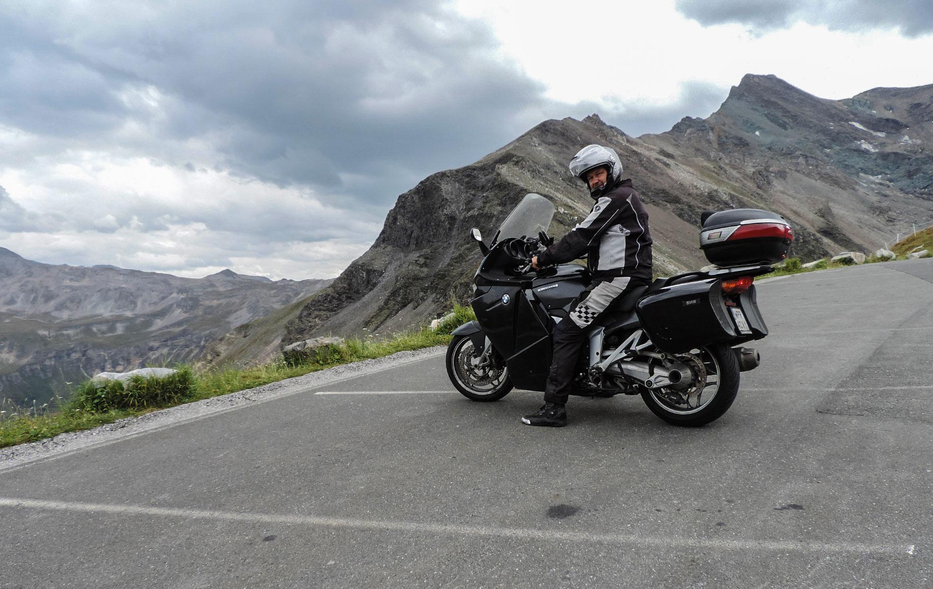 Wyprawa motocyklem przez Grossglockner