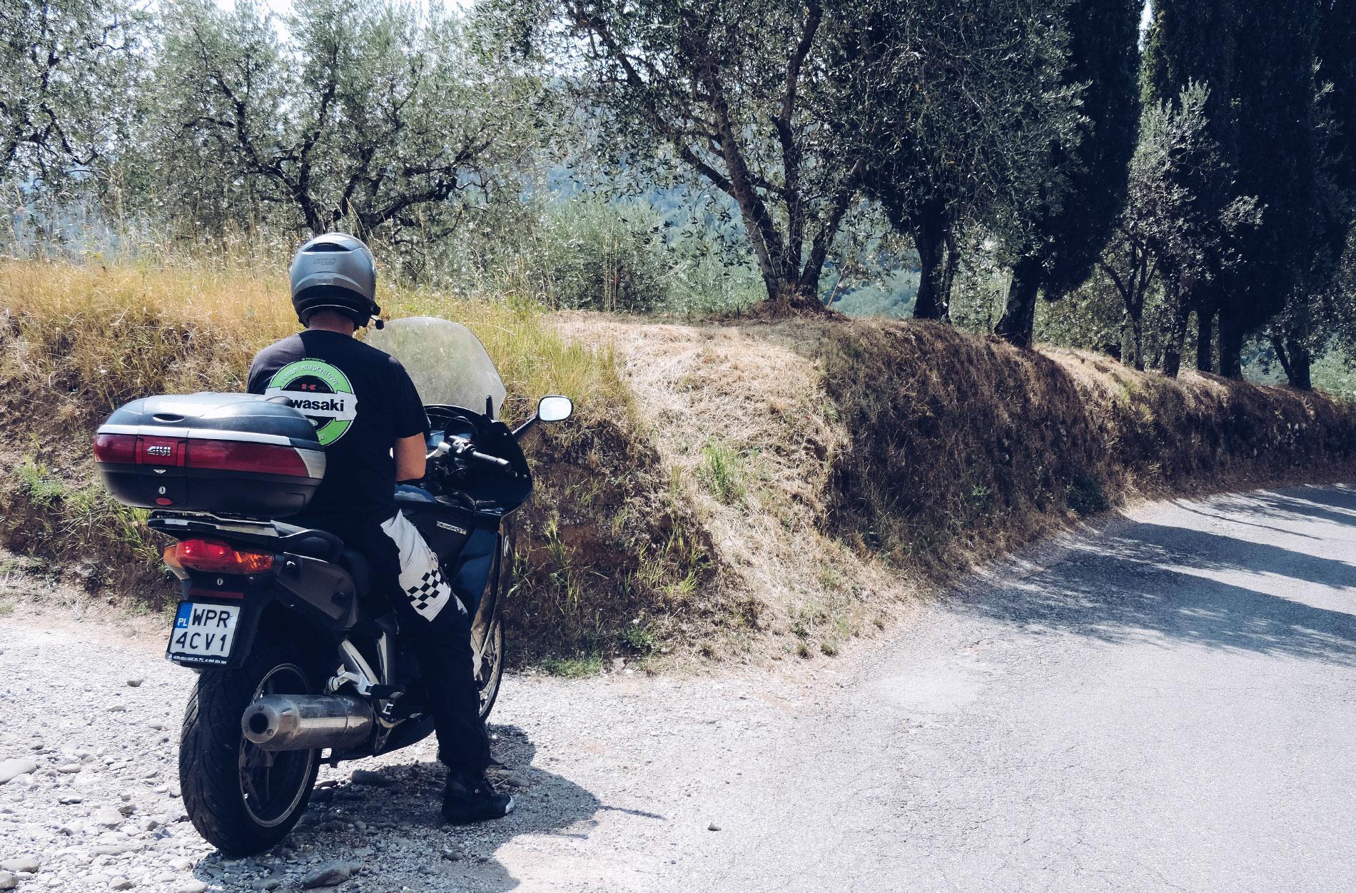 Apeniny to motocyklowy raj