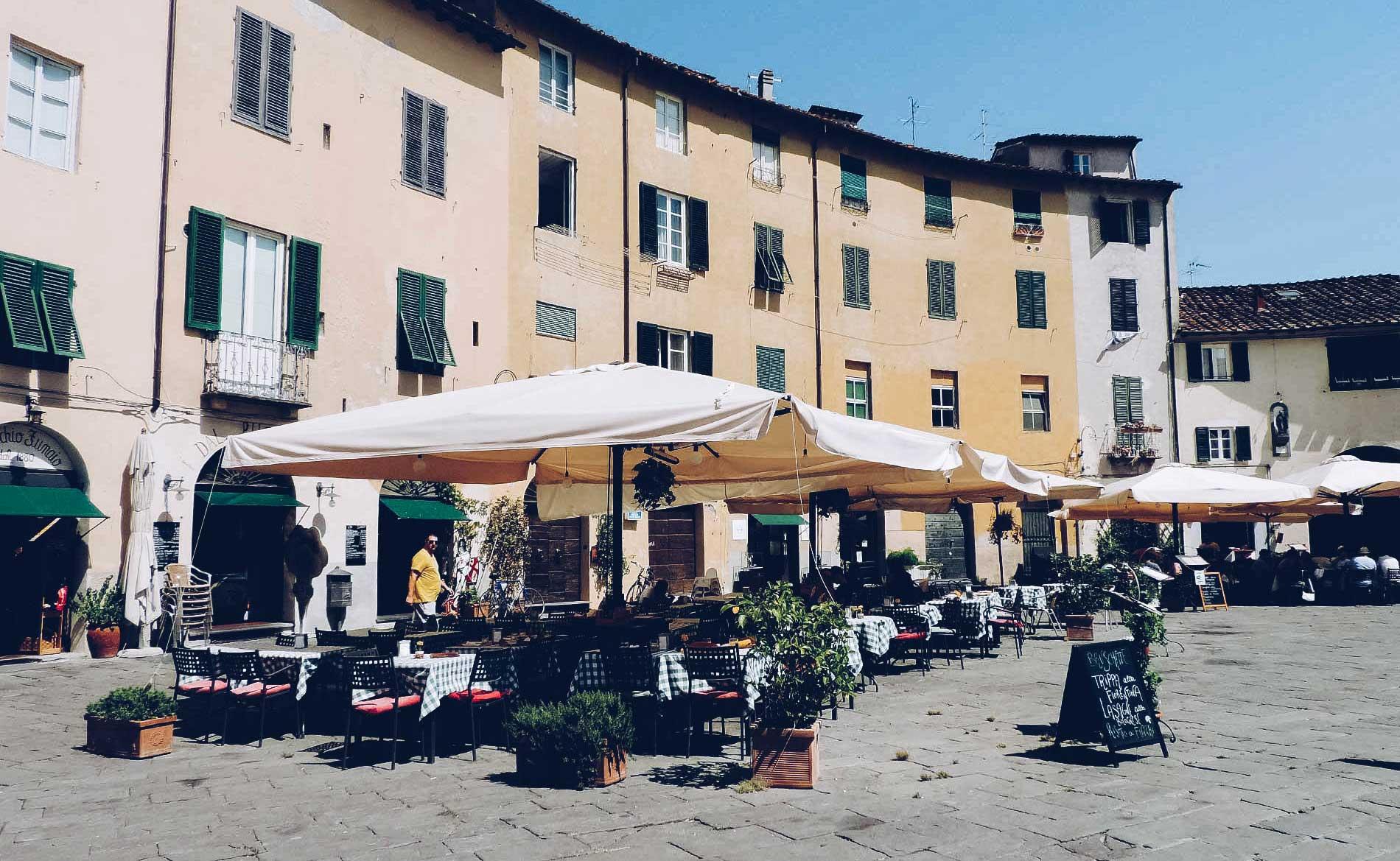 motocyklem po Toskanii