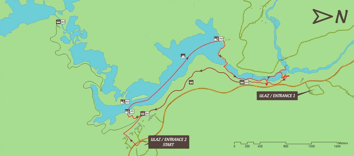Jeziora Plitwickie - jaką wybrać trasę