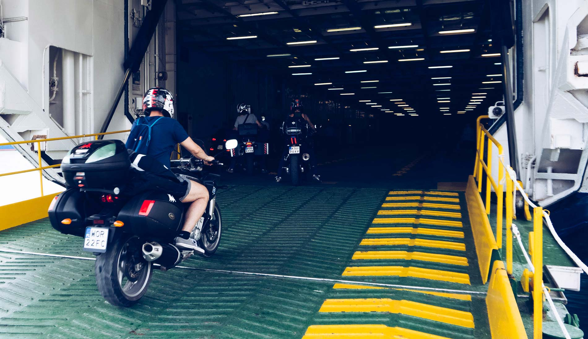 Wyspa Hvar motocyklem