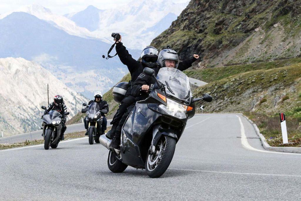 Stelvio na motocyklu