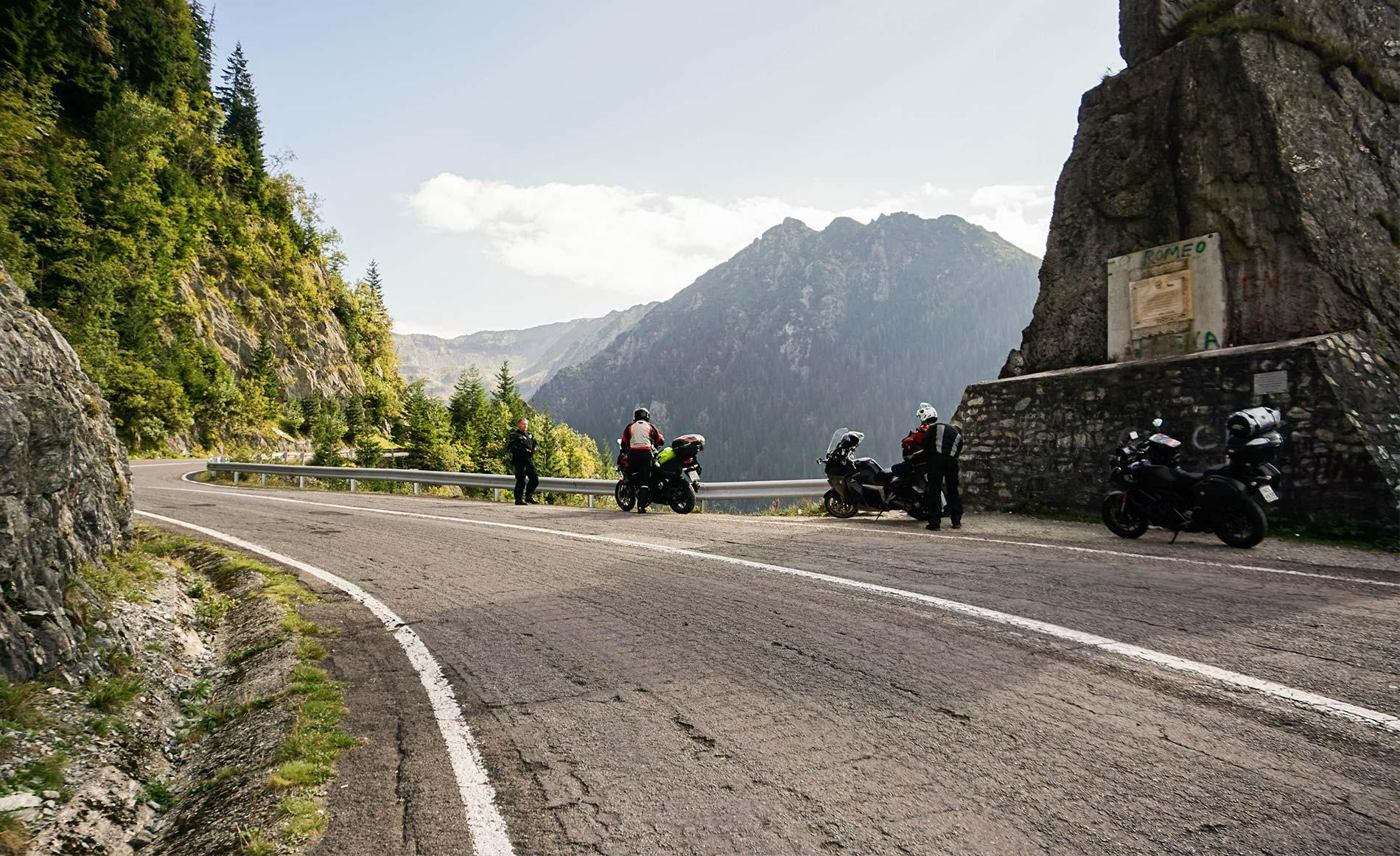 Trasa Transfogaraska na motocyklu