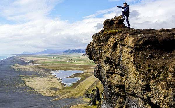 """Dyrhólaey – obowiązkowa pozycja """"must see"""" południowej Islandii"""
