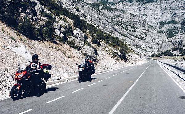 Trasa SH20 motocyklem, czyli drogą przez albańskie Stelvio!