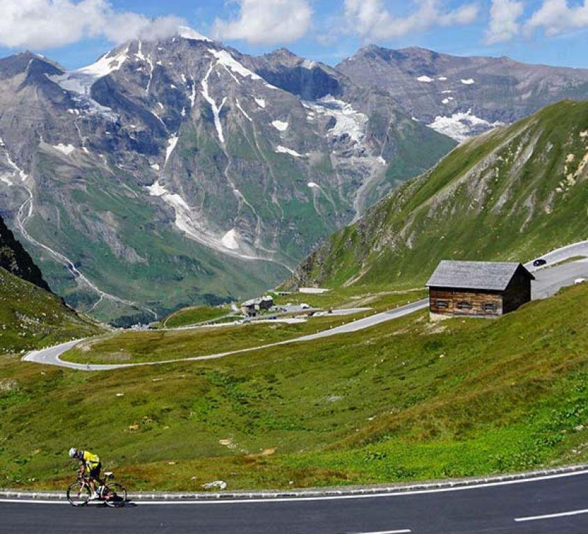 Alpy i Dolomity na motocyklu