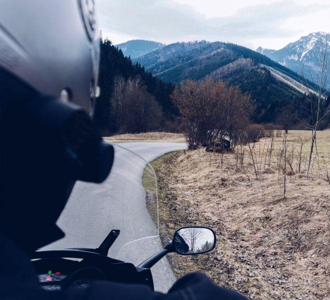 motocyklem dookoła Tatr