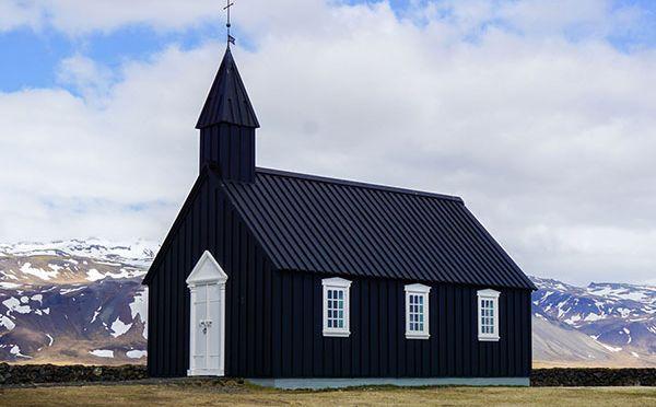 Półwysep Snaefellsnes – foczki, czarny kościół, Kirkjufell i kąpiel z Wikingami