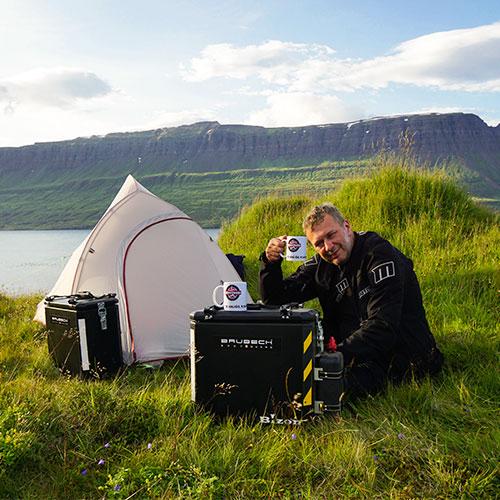 Nocowanie na dziko na Islandii